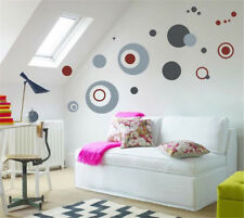 Gray Dots Home Room Decor Removable Wall Stickers Decal Decoration