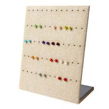 Jewelry Earring Organizer Hanging Holder Ear Studs Show Display Stand Rack Shelf