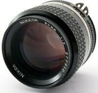 *Excellent +5* Nikon Nikkor AI-S AIS 85mm f/2 Portrait Prime Lens Japan #641072