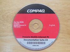 Compaq Documentation Suite CD for Presario Mobile PC