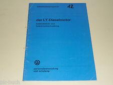 SSP 12 VW Selbststudienprogramm Service Schulung LT Dieselmotor Diesel