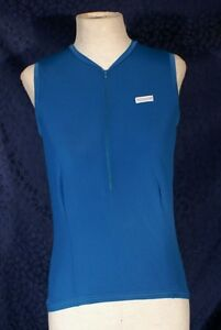 Nice Teal HIND Sleeveless  Cycling Jersey M