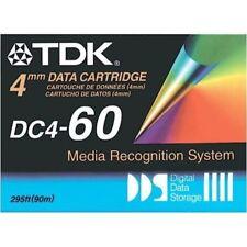 10 NEW TDK DC4-60 4MM DATA CARTRIDGES 1.3/2.6GB EACH