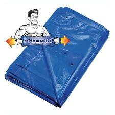 Telo telone copertura per esterni 5 x 8 metri iper resistente blu