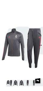 Real Madrid Adidas XL Trainingsanzug 2020 21 HERREN Reißverschlusstasche