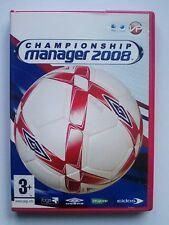 Mac Version - Championship Manager Season 2008 08 Apple Mac Edition for Mac