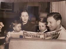 George Murphy & Family -Vintage Photo Still