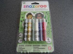 Snazaroo Childrens Face Paint Stick Sets Make Up Kit Boys Girls Kids Unisex