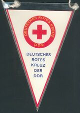DDR seltener Wimpel Deutsches Rotes Kreuz (DRK), I/II