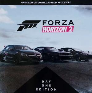 Forza Horizon 2 ADD-ON BONUS DLC CODE (XBOX ONE) Base Game NOT INCLUDED