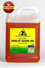 WHEAT GERM OIL UNREFINED ORGANIC by H&B Oils Center COLD PRESSED PURE 7 LB