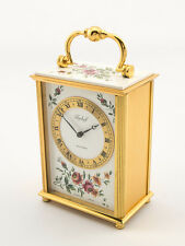 Beautiful IMHOF Bucherer table desk clock with 8 day movement, 1950´s