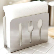 Stainless Steel Napkin Holder Paper Dispenser Tissue Rack Dining Table Decor