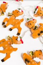 Temerity Jones Reindeer LED String Lights, BNIB, XMAS, Decs, Santa, Vintage,(N)