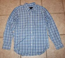 Vineyard Vines Mens Small Slim Fit Whale Long Sleeve Button Front Shirt