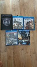 Transformers Collection 5 Bluray Movies