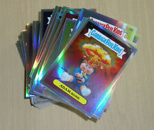 2013 Topps Garbage Pail Kids GPK CHROME OS1 110-card complete REFRACTOR set