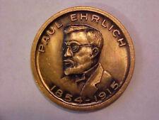Paul Ehrlich Commemorative Medal -- Established Modern Chemotherapy