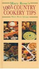 Mary Rose'S 1001 Country Cookery Tips - Livre Neuf (Wh1-R4-B) H/B