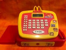 2004 McDonalds Electronic Cash Register Kids Toy Calculator Play WORKS!