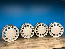 89-90 Nissan 240SX Factory Teardrop Wheels w/ Center Caps - 4x114.3 Hard To Find