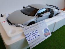 AUDI R8 GT gris Suzuka grey 1/18 KYOSHO 09218SGR voiture miniature de collection
