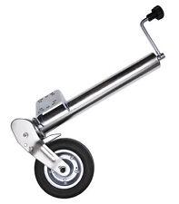 Automatik Stützrad 60 mm klappbar Stahlfelge Stützlast 400 kg Bugrad Trailer