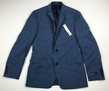 BAR III Mens Slim Fit 2 Button Suit Jacket Sport Coat Blazer Blue Sz 38R