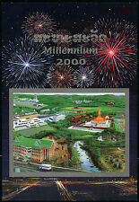 LAOS Bloc N°150A** Bf Non dentelé, Millénaire 2000 - Imperf. Sheet MNH
