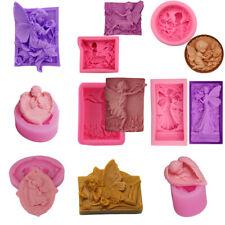 3D Silicone Mold Fondant Sugarcraft Chocolate Candy Ice Mould Cake Decor Tools