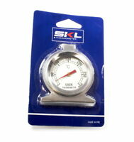 SKL termometro temperatura acciaio inox 0 - 300 °C interno esterno forno gancio