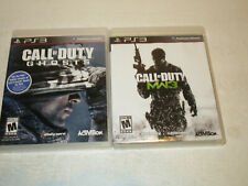 Sony PlayStation 3 PS3 Cod Ghosts & MW3  used in VG condition