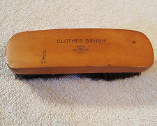 """OXCO RFG Clothes Brush 6.5"""" Wood Handle 1"""" long bristles Vintage Made in USA"""