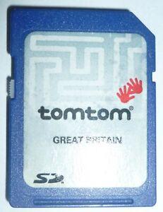 Original Tom Tom Go 510/710 SD Card - Great Britain Maps Sat Nav