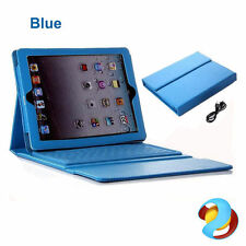 Blue Leather Tablet & eBook Cases, Covers & Keyboard Folios