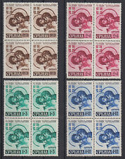 Serbia German occupation for our war prisoners block of four 1942 no gum
