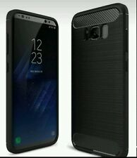 In Fibra di Carbonio Brand NUOVA COVER CUSTODIA per Samsung Galaxy S8 Plus Nero