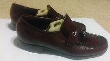 Florsheim Mens size 8.5 D  Burgundy Cordovan Tassel  Loafers Dress Shoes
