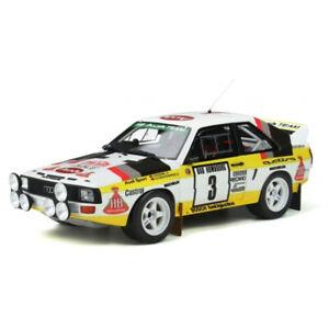 Audi Quattro Sport #3 Rally Monte Carlo RMC 1985 1/18 - OT820 OTTOMOBILE