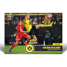 Erling Haaland Outrageous acrobatic finish - BVB TOPPS NOW® Card #3 PRE ORDER