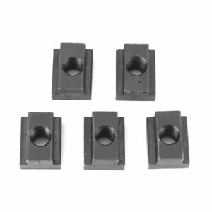 5Pcs Oxide Finish T Slot Nuts M8/M10 Threads for T-slots In Machine Tool GFL