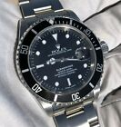 Rolex Submariner Date 16610 Black 40mm No Holes COLLECTIBLE