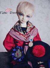 1/4 7-8 Bjd wig MSD MDD Luts Obitsu60 DD Doll pink mix short wig hair