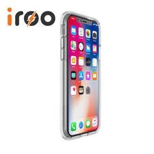 Speck Presidio Clear Impactium Slim Rugged Case for iPhone X | Scratch Resistant