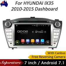"7"" Quad Core Android 7.1 Car DVD GPS Navigation For HYUNDAI IX35 2009-2015"
