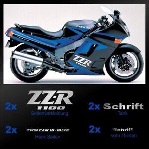 Motorrad Aufkleber passend für Kawasaki ZZR1100 Bj. 1990-1992
