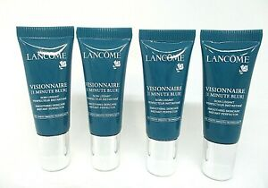 Lot/4 Lancome Visionnaire 1 minute Blur Smoothing Skincare ~ 0.23 oz x 4