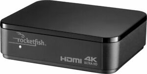 Rocketfish 2-Output HDMI Splitter 4K HDR Pass-Through for TV Monitor projectors