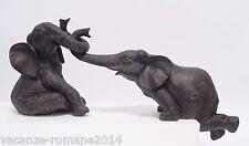 2 Elefantes -elefant - África - 2 set- 27,8 cm x 20 CM X 50,5cm
