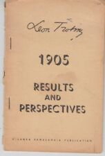 1905: Results and Perspectives - Leon Trotsky - Ceylon (Sri Lanka) 1954 - Rare
